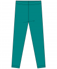 Velour Lagoon leggings/tights  GOTS MAXOMORRA