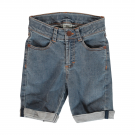 Jeans shorts medium light wash Ekologisk Bomull från MAXOMORRA
